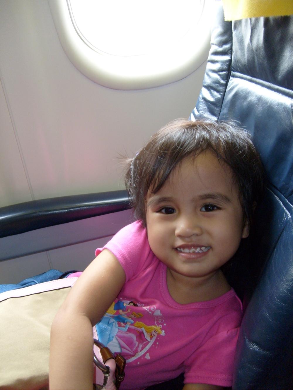 PAL Express passenger kids