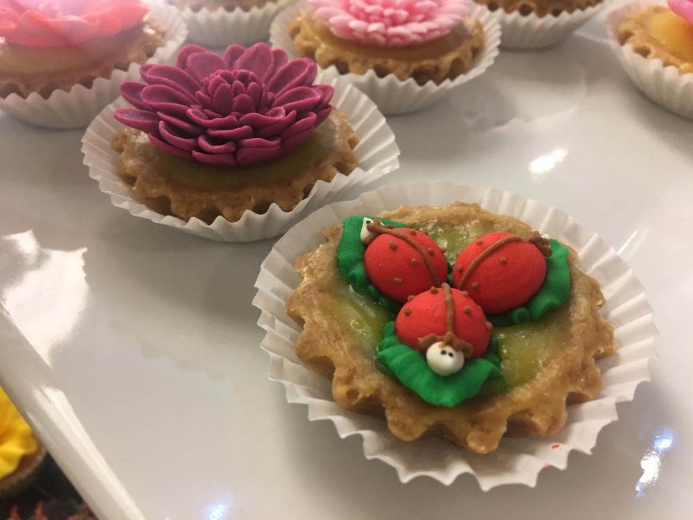 Lara Mia Cafe and Bistro lemon tart