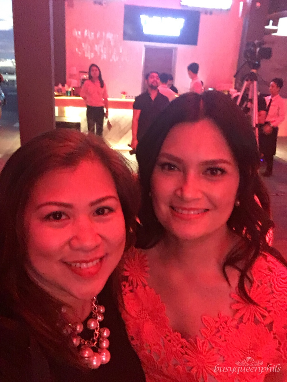 Busyqueenphils with Ms. Daphne Oseña-Paez at AirAsia RedTalks launch