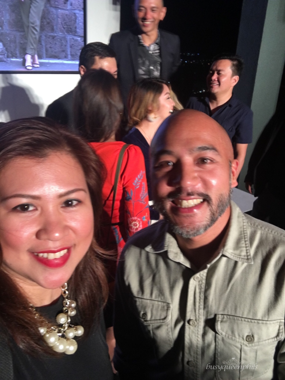 Busyqueenphils with rock star Chef JP Anglo at AirAsia Red Talks launch