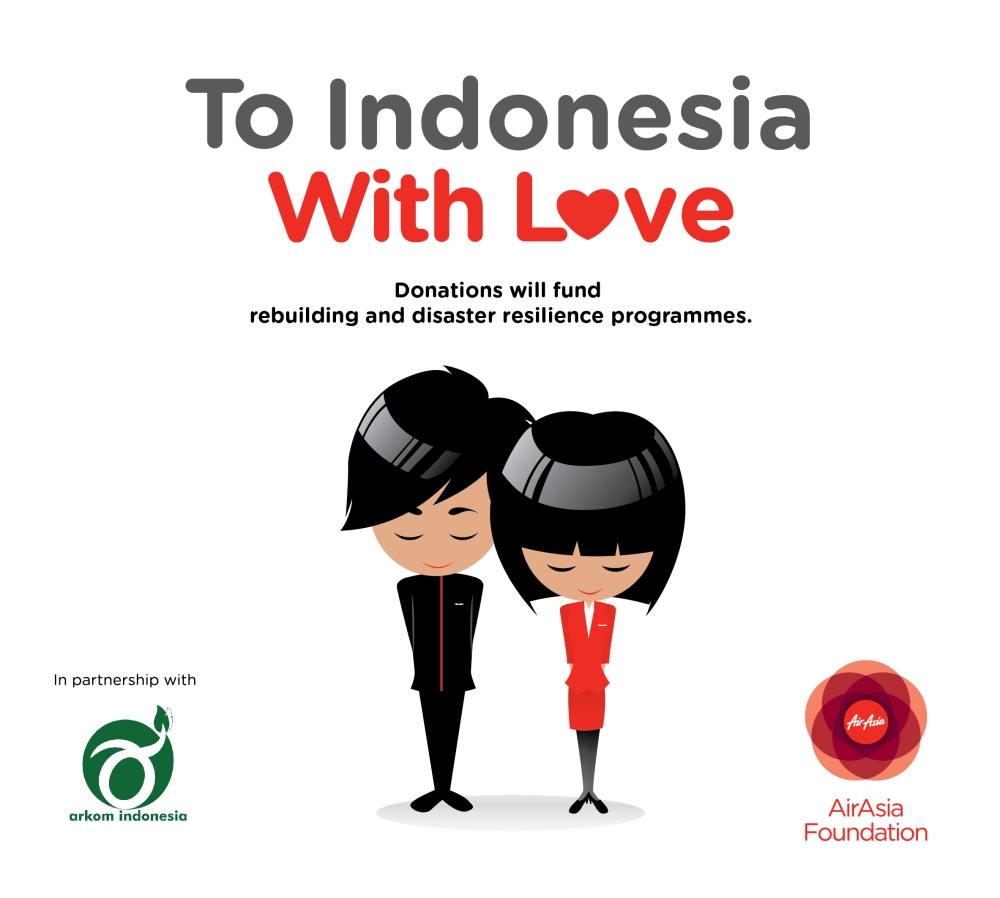 #ToIDwithLove To Indonesia with Love AirAsia Foundation