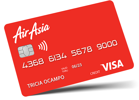 air asia credit card read at Busyqueenphils Blog