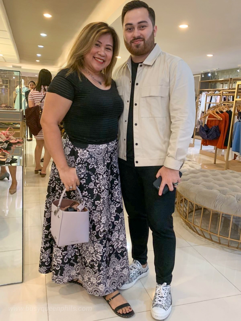 Busyqueenphils Davao blogger influencer with Mark Bumgarner